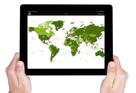 Virtual Amazing Race Map