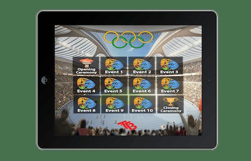 Olympic Stadium Map